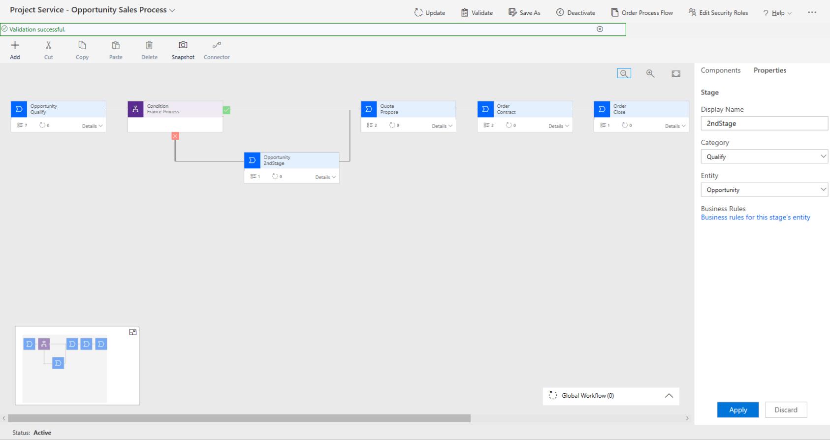 Dynamics 365 Project Service Platform
